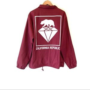 Eighty Eight • Maroon Windbreaker